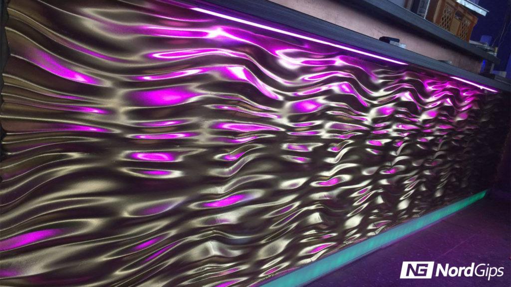 Oryginalne Panele Dekoracyjne 3d Na ściany Realizacje Nordgips